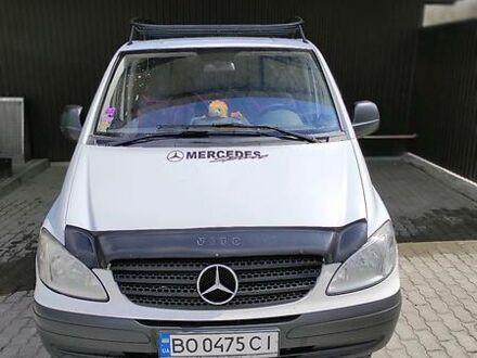 Белый Мерседес Vito 109, объемом двигателя 2.1 л и пробегом 520 тыс. км за 8100 $, фото 1 на Automoto.ua