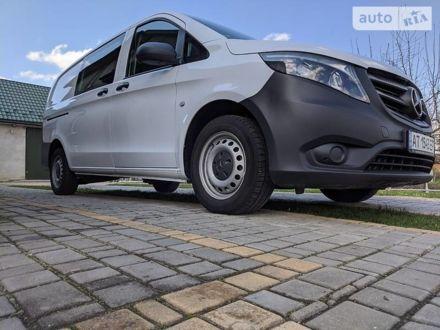 Белый Мерседес Vito 109, объемом двигателя 1.6 л и пробегом 230 тыс. км за 16500 $, фото 1 на Automoto.ua