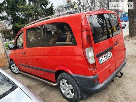 Червоний Мерседес Vito 109, об'ємом двигуна 2.2 л та пробігом 333 тис. км за 7400 $, фото 1 на Automoto.ua