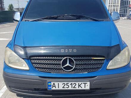 Синій Мерседес Vito 109, об'ємом двигуна 2.1 л та пробігом 309 тис. км за 6000 $, фото 1 на Automoto.ua