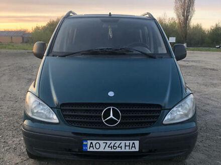 Зелений Мерседес Vito 109, об'ємом двигуна 2.2 л та пробігом 240 тис. км за 7300 $, фото 1 на Automoto.ua