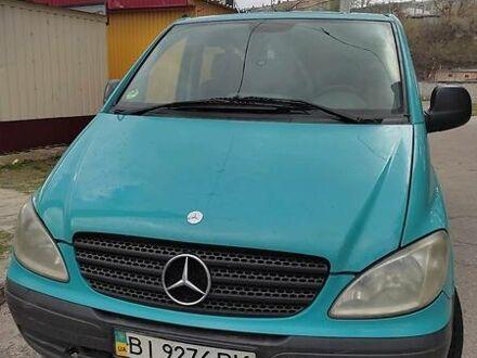 Зелений Мерседес Vito 109, об'ємом двигуна 0 л та пробігом 485 тис. км за 5600 $, фото 1 на Automoto.ua