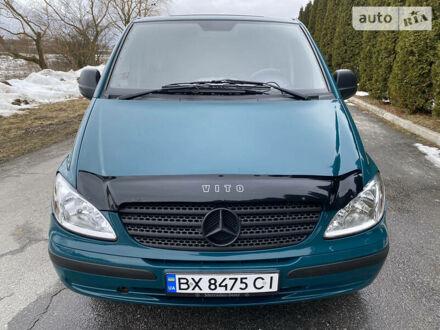Зеленый Мерседес Vito 109, объемом двигателя 2.1 л и пробегом 400 тыс. км за 7200 $, фото 1 на Automoto.ua