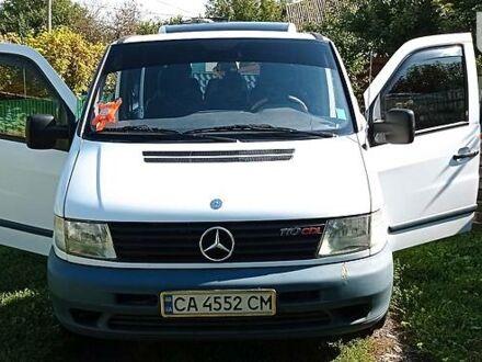 Білий Мерседес Vito 110, об'ємом двигуна 2.2 л та пробігом 254 тис. км за 7100 $, фото 1 на Automoto.ua