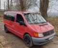 Красный Мерседес Vito 110, объемом двигателя 2.2 л и пробегом 305 тыс. км за 5500 $, фото 1 на Automoto.ua