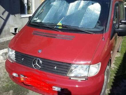 Червоний Мерседес Vito 110, об'ємом двигуна 2.2 л та пробігом 181 тис. км за 8000 $, фото 1 на Automoto.ua