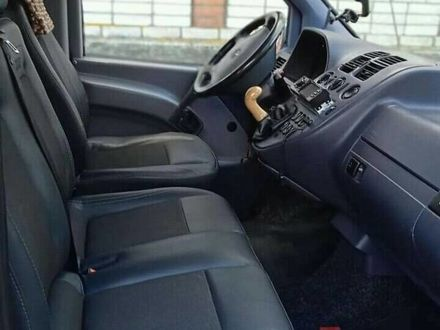 Серый Мерседес Vito 110, объемом двигателя 2.14 л и пробегом 200 тыс. км за 5100 $, фото 1 на Automoto.ua