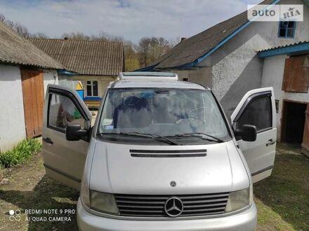 Серый Мерседес Vito 110, объемом двигателя 2.2 л и пробегом 260 тыс. км за 5500 $, фото 1 на Automoto.ua