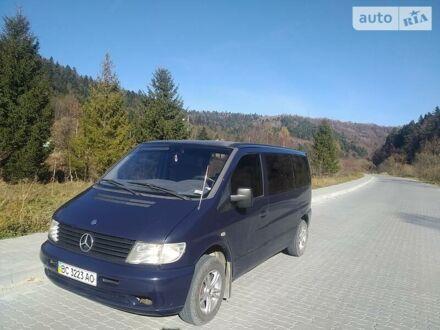 Синий Мерседес Vito 110, объемом двигателя 2.1 л и пробегом 116 тыс. км за 5600 $, фото 1 на Automoto.ua
