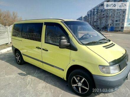 Помаранчевий Мерседес Vito 110, об'ємом двигуна 2.1 л та пробігом 500 тис. км за 6500 $, фото 1 на Automoto.ua