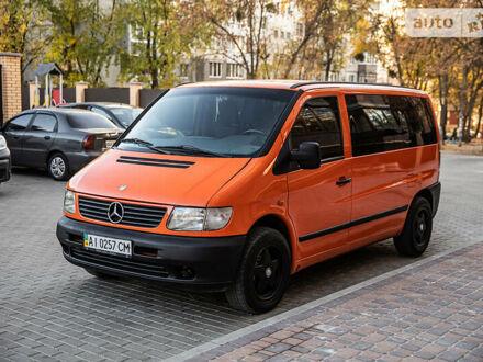 Оранжевый Мерседес Vito 112, объемом двигателя 2.2 л и пробегом 343 тыс. км за 5799 $, фото 1 на Automoto.ua
