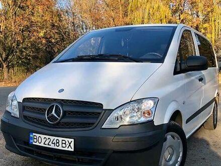 Белый Мерседес Vito 113, объемом двигателя 2.1 л и пробегом 289 тыс. км за 13600 $, фото 1 на Automoto.ua