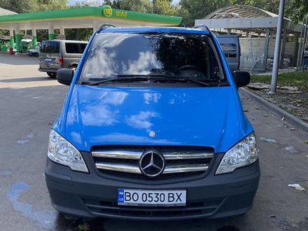 Синій Мерседес Vito 113, об'ємом двигуна 2.1 л та пробігом 250 тис. км за 12800 $, фото 1 на Automoto.ua