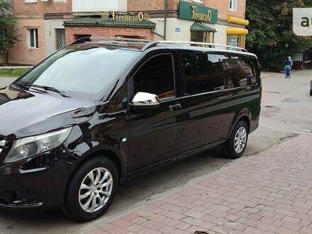 Черный Мерседес Vito 114, объемом двигателя 2.2 л и пробегом 213 тыс. км за 22700 $, фото 1 на Automoto.ua