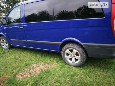 Синій Мерседес Vito 115, об'ємом двигуна 2.2 л та пробігом 180 тис. км за 13000 $, фото 1 на Automoto.ua