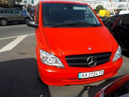Красный Мерседес Vito 116, объемом двигателя 0 л и пробегом 230 тыс. км за 15500 $, фото 1 на Automoto.ua