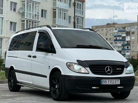 Белый Мерседес Vito 120, объемом двигателя 3 л и пробегом 209 тыс. км за 13200 $, фото 1 на Automoto.ua