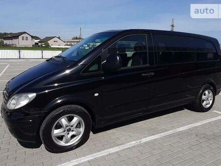 Черный Мерседес Vito 120, объемом двигателя 3 л и пробегом 311 тыс. км за 14900 $, фото 1 на Automoto.ua