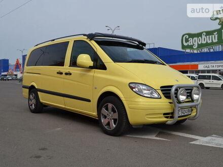 Жовтий Мерседес Vito 120, об'ємом двигуна 3 л та пробігом 320 тис. км за 12000 $, фото 1 на Automoto.ua