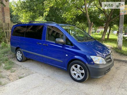 Синий Мерседес Vito 122, объемом двигателя 3 л и пробегом 330 тыс. км за 18500 $, фото 1 на Automoto.ua