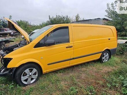 Оранжевый Мерседес Vito 122, объемом двигателя 3 л и пробегом 377 тыс. км за 7750 $, фото 1 на Automoto.ua