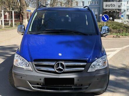 Синій Мерседес Віто, об'ємом двигуна 2.2 л та пробігом 273 тис. км за 11900 $, фото 1 на Automoto.ua