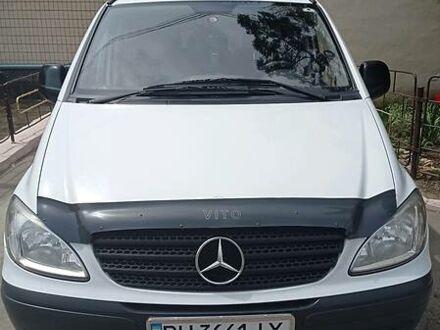 Белый Мерседес Vito 109, объемом двигателя 2.2 л и пробегом 282 тыс. км за 10300 $, фото 1 на Automoto.ua