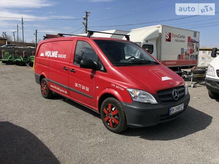 Красный Мерседес Vito 110, объемом двигателя 2.1 л и пробегом 114 тыс. км за 10750 $, фото 1 на Automoto.ua