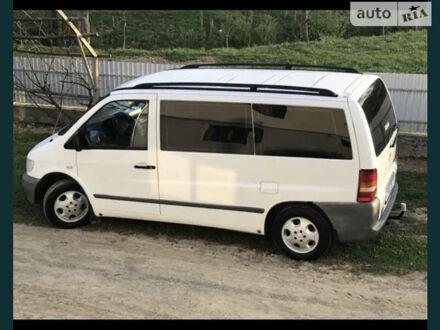Белый Мерседес Vito 112, объемом двигателя 2.2 л и пробегом 289 тыс. км за 6571 $, фото 1 на Automoto.ua