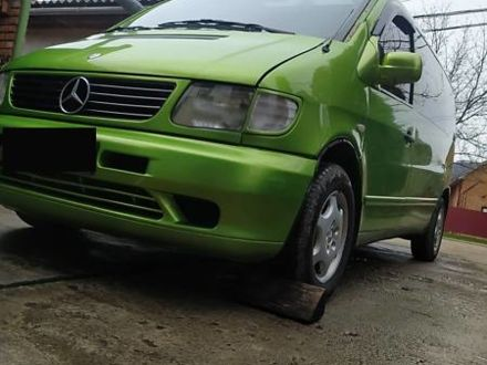 Зеленый Мерседес Vito 112, объемом двигателя 2.2 л и пробегом 290 тыс. км за 6500 $, фото 1 на Automoto.ua