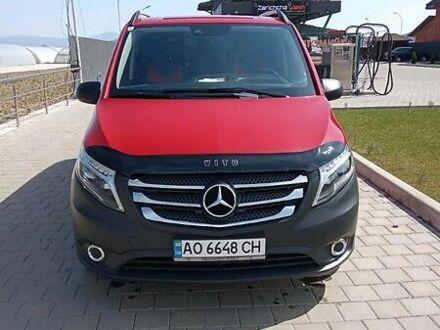 Червоний Мерседес Vito 116, об'ємом двигуна 2.1 л та пробігом 189 тис. км за 21650 $, фото 1 на Automoto.ua