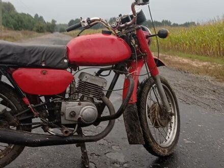 Красный Минск 125, объемом двигателя 1.25 л и пробегом 10 тыс. км за 253 $, фото 1 на Automoto.ua