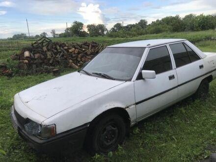 Белый Мицубиси Галант, объемом двигателя 1.8 л и пробегом 50 тыс. км за 500 $, фото 1 на Automoto.ua