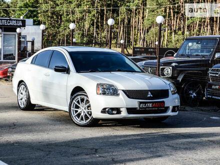 Белый Мицубиси Галант, объемом двигателя 2.4 л и пробегом 73 тыс. км за 12999 $, фото 1 на Automoto.ua