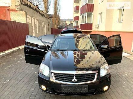 Черный Мицубиси Галант, объемом двигателя 2.4 л и пробегом 137 тыс. км за 8950 $, фото 1 на Automoto.ua