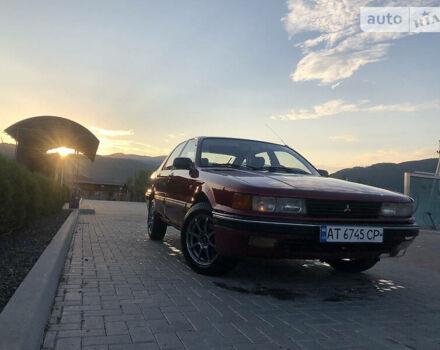 Красный Мицубиси Галант, объемом двигателя 1.8 л и пробегом 390 тыс. км за 2150 $, фото 1 на Automoto.ua