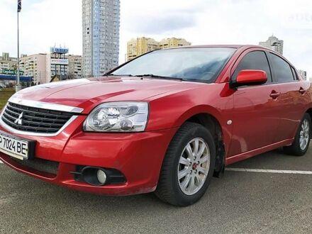 Красный Мицубиси Галант, объемом двигателя 2.4 л и пробегом 166 тыс. км за 7000 $, фото 1 на Automoto.ua