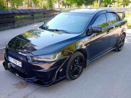 Черный Мицубиси Лансер Х, объемом двигателя 2 л и пробегом 179 тыс. км за 6850 $, фото 1 на Automoto.ua