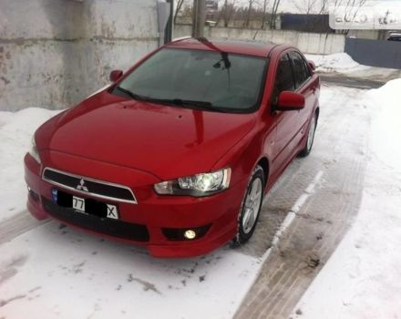Красный Мицубиси Лансер Х, объемом двигателя 2 л и пробегом 138 тыс. км за 8800 $, фото 1 на Automoto.ua