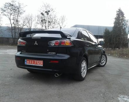 Черный Мицубиси Лансер Х, объемом двигателя 1.5 л и пробегом 114 тыс. км за 8500 $, фото 1 на Automoto.ua