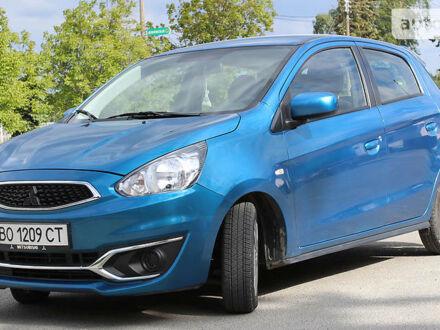 Синий Мицубиси Мираж, объемом двигателя 1.2 л и пробегом 6 тыс. км за 10600 $, фото 1 на Automoto.ua