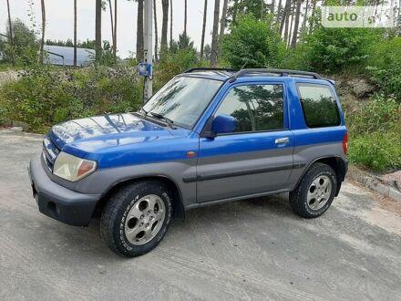 Синій Міцубісі Паджеро Пінін, об'ємом двигуна 2 л та пробігом 198 тис. км за 6500 $, фото 1 на Automoto.ua