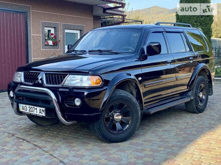 Чорний Міцубісі Паджеро Спорт, об'ємом двигуна 3 л та пробігом 309 тис. км за 9999 $, фото 1 на Automoto.ua