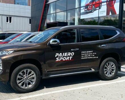 купити нове авто Міцубісі Паджеро Спорт 2020 року від офіційного дилера Альфа Діамант Міцубісі фото