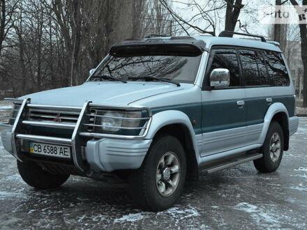 Серый Мицубиси Паджеро, объемом двигателя 3 л и пробегом 555 тыс. км за 6999 $, фото 1 на Automoto.ua