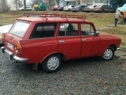 Червоний Москвич / АЗЛК 2137, об'ємом двигуна 1.5 л та пробігом 100 тис. км за 9000 $, фото 1 на Automoto.ua