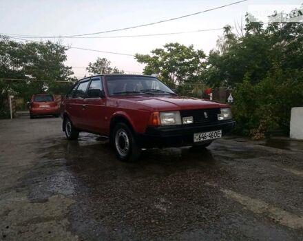 Червоний Москвич / АЗЛК 2141, об'ємом двигуна 1.7 л та пробігом 146 тис. км за 1000 $, фото 1 на Automoto.ua