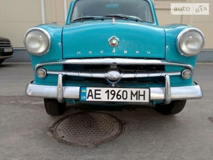 Синій Москвич / АЗЛК 407, об'ємом двигуна 1.4 л та пробігом 88 тис. км за 4200 $, фото 1 на Automoto.ua