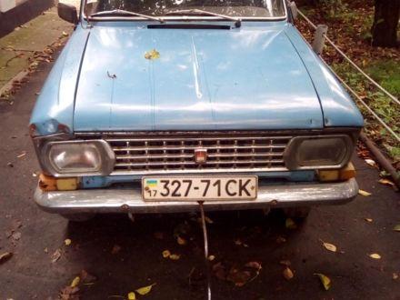 Синій Москвич / АЗЛК 408, об'ємом двигуна 1.3 л та пробігом 136 тис. км за 298 $, фото 1 на Automoto.ua