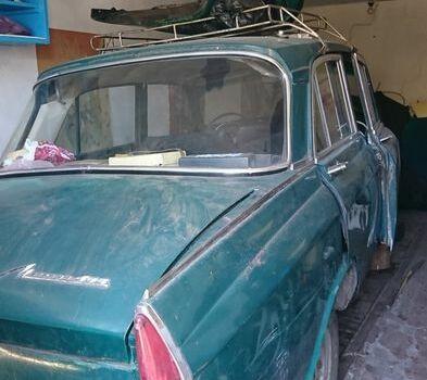 Зеленый Москвич / АЗЛК 408, объемом двигателя 1.36 л и пробегом 1 тыс. км за 350 $, фото 1 на Automoto.ua